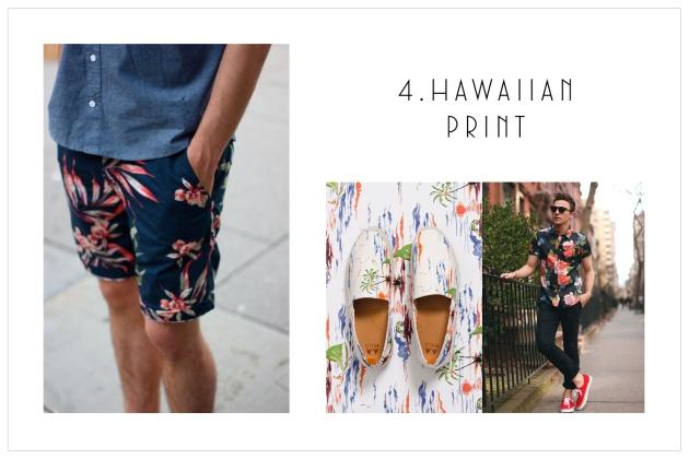 4.Hawaiian Print