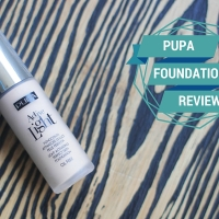 Beauty Review :: PUPA Active Light Foundation